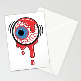 Bloody Eyeball Stationery Cards