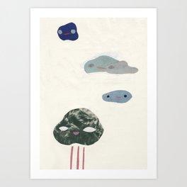 cloudies Art Print