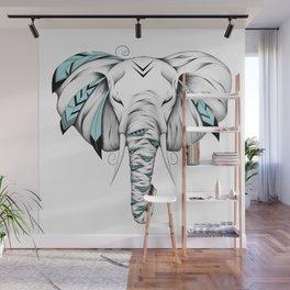 Poetic Elephant Wall Mural