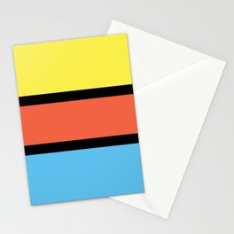 Diversions #1 in Yellow, Orange & Powder Blue Stationery Cards