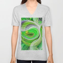 Everything Is Created Imperfect Iced Limes Unisex V-Neck