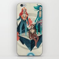 guardians iPhone & iPod Skins featuring The Guardians by Reno Nogaj
