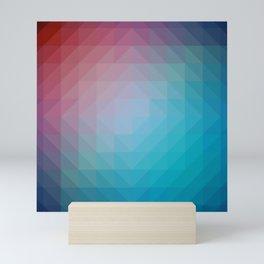 Blend Pixel Color 6 Mini Art Print