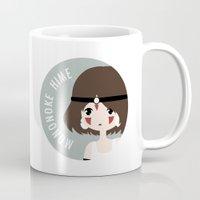 mononoke Mugs featuring Mononoke by gaps81