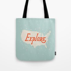 Explore Tote Bag