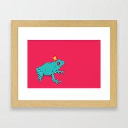 Frawg Framed Art Print