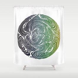 Swirls 2 Shower Curtain