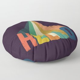 Hello I come in peace Floor Pillow