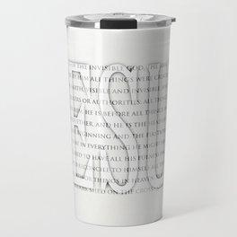 Image of the Invisible Travel Mug