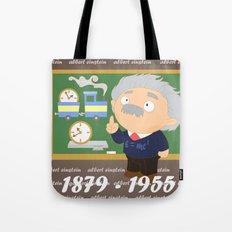 Albert Einstein Tote Bag