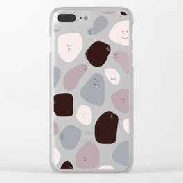 Funny Shapes Clear iPhone Case