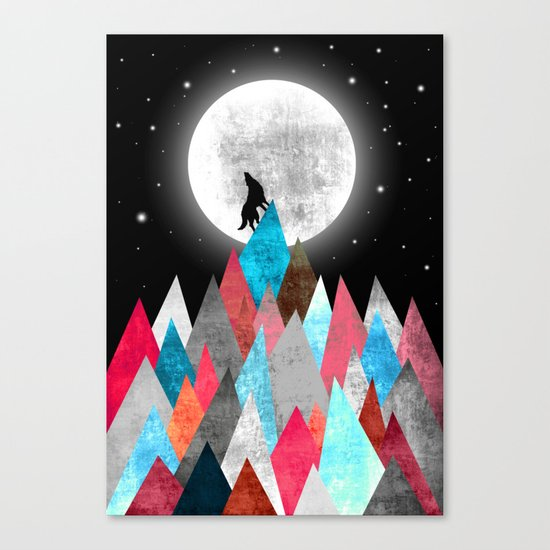 Wofl XOX Canvas Print