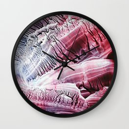 Fossils Wall Clock