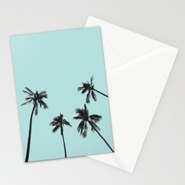 Palm trees 5 Stationery Cards