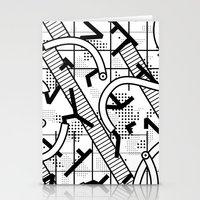 8 bit Stationery Cards featuring 8 bit by Bomburo