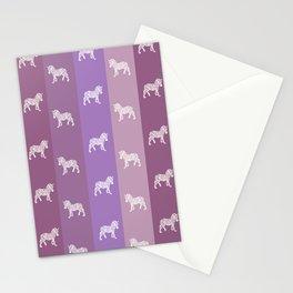 Zebra Pattern Stationery Cards