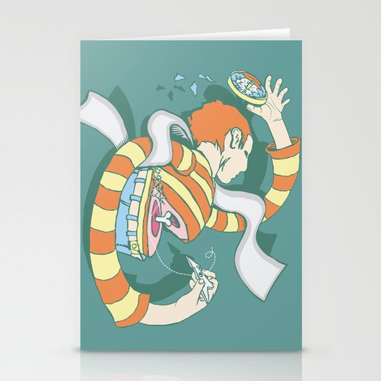 Put Yourself Back Together Again Stationery Cards