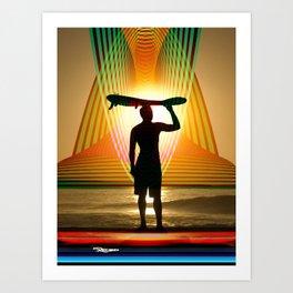 Rego Industries Wave Dreamer Art Print