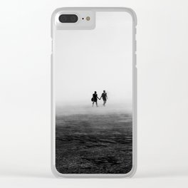 Everyone Else Disappears Clear iPhone Case