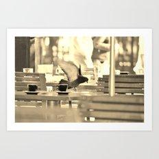 Mon Paris - Atmosphère des Tuileries Art Print