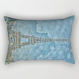 Tour Eiffel reflet Rectangular Pillow