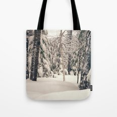 Winter Woods 2 Tote Bag