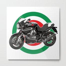 Italian Motorcycle Metal Print