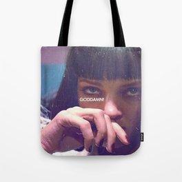 Mia Wallace Cocaine Nose Tote Bag