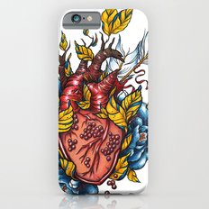 Pomegranate Heart iPhone 6s Slim Case