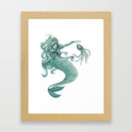 Enchanting Mermaid Framed Art Print