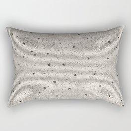 Sideral Heavens - Black Rectangular Pillow