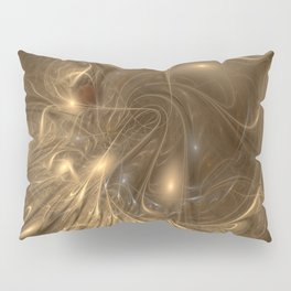 Liquid Gold Pillow Sham
