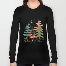 Evergreen Fox Tale Long Sleeve T-shirt