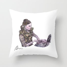 Lauren Cuthbertson as Juliet Throw Pillow