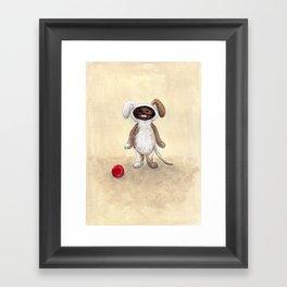 I'm A Dog! Woof! Framed Art Print