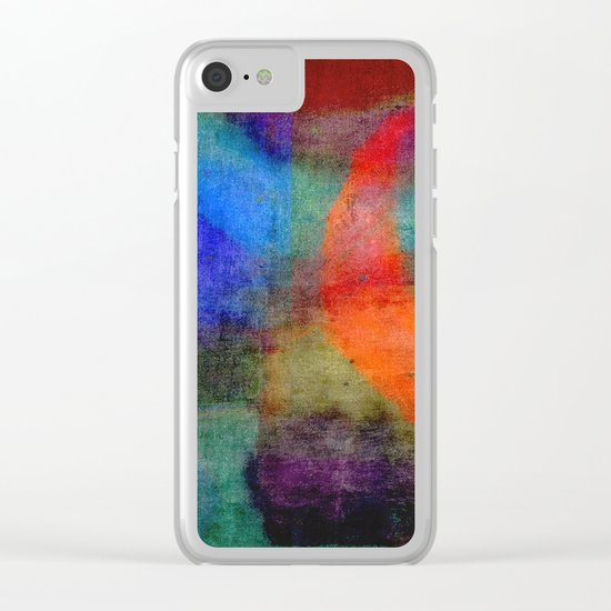 he`s got the sun and the moon VII Clear iPhone Case