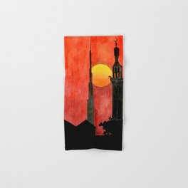 UAE Sunset Hand & Bath Towel