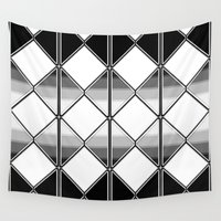 triangles Wall Tapestries featuring Triangles by VanessaGF