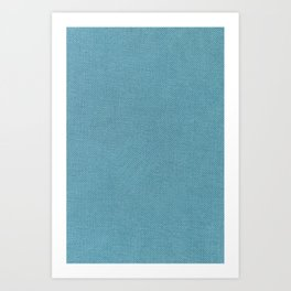 Solid Blue Art Print