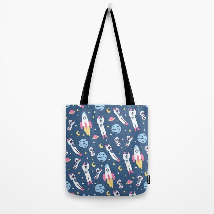 Space People Tote Bag