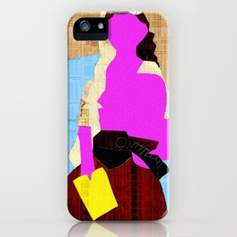 Picasso Woman iPhone Case