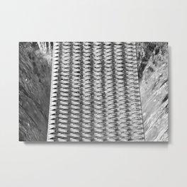 Grillage Metal Print