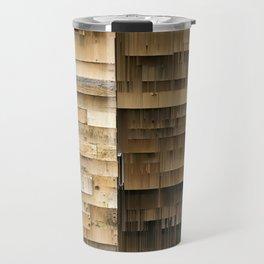 Wall of Wood Travel Mug