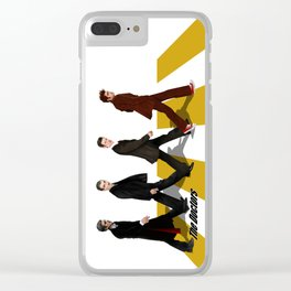The Doctors at abbey road Clear iPhone Case