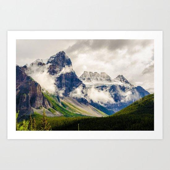 Valley of The Gods Art Print