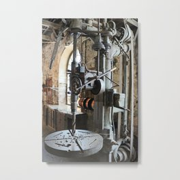 Heavy Industry - Drilling Machine Metal Print