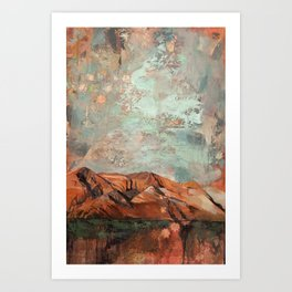 Our Hearts Are Glued Together Art Print