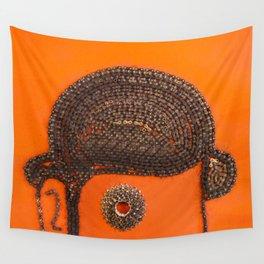 002: Clockwork Orange - 100 Hoopties Wall Tapestry