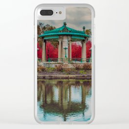 Fall has fell Clear iPhone Case