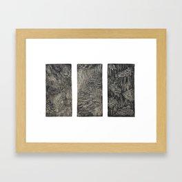 Fungal Studies Framed Art Print